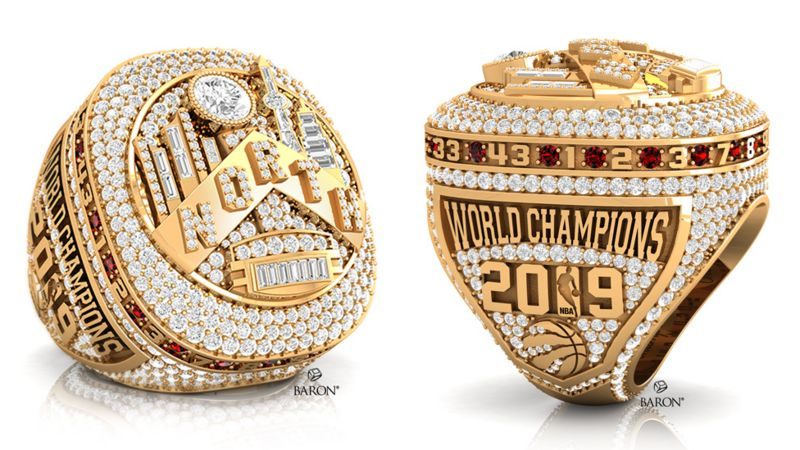 Raptors NBA Championship ring